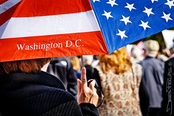 Scene at the November Speaks Rally, sponsored by Americans for Prosperity, in Washington, DC on November 15, 2010